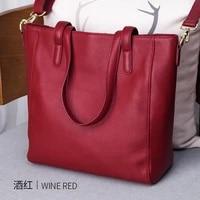 high quality women genuine leather ladies handbag shopping bag fashion design