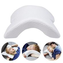 Massage Memory Foam Bedding Pillow Anti-pressure Hand Pillow Ice Silk Slow Rebound Multifunction Pillow Home Silk Couple Beding