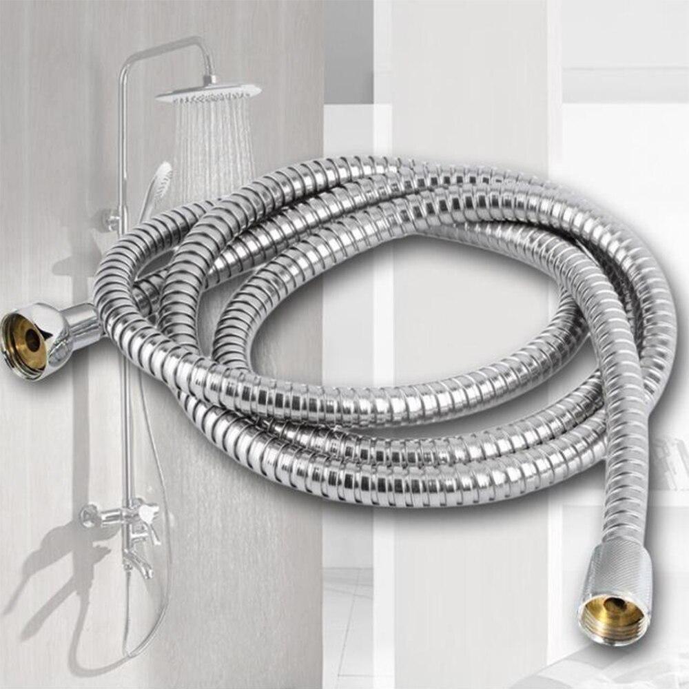 Arandelas flexibles de tubo de acero inoxidable para ducha, accesorios para baño,...