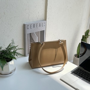 New Version Bag Female Luxury Trend Stereotypes Handbag Women High Quality Fashion Temperament Shoulder Texture Triangle Tote
