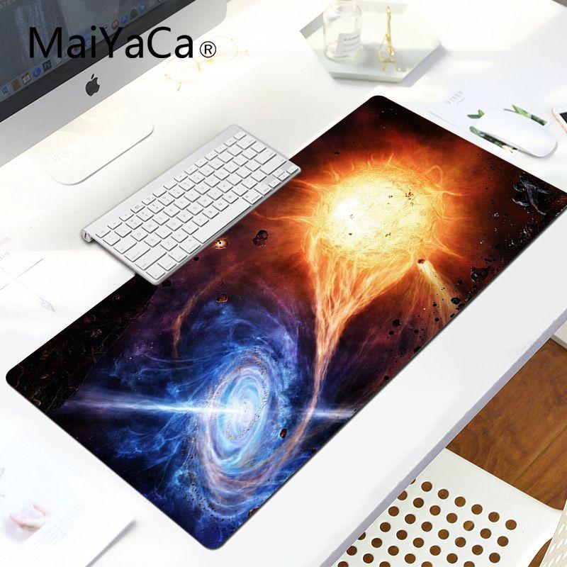 MaiYa Your Own Mats Planets Universe gamer play mats Mousepad Laptop Gaming Lockedge Mice Mousepad Gaming Mouse Pad