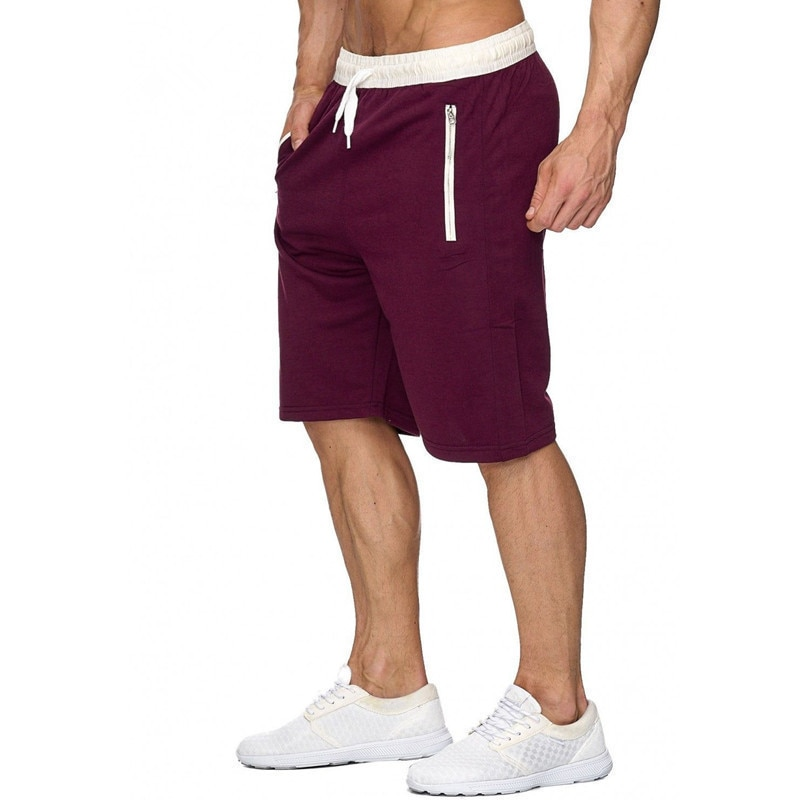 Men Bodybuilding Shorts Fitness Summer Gyms Workout Male Breathable Sportswear Jogger Beach Brand Short Pants Mens Clothing