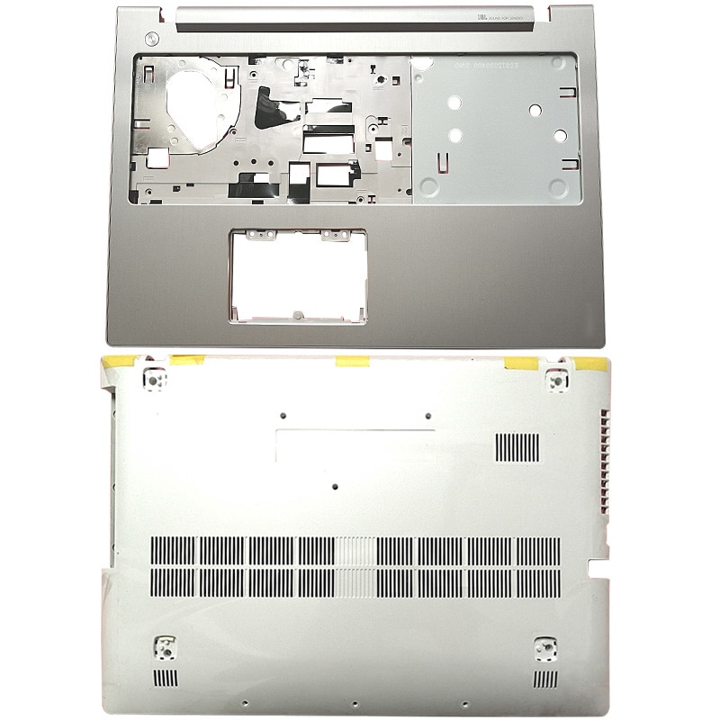 NEW For Lenovo Ideapad Z510 Laptop Case Palmrest Upper Case/Bottom Base Notebook Computer Silver