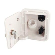 Buse à pression dentrée deau 12V   Pièces de rénovation RV buse à pression carrée buse à gravité boîte à eau intégrée buse à sortie externe