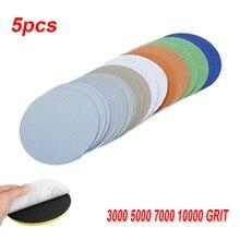20pcs 6-inch Sanding Discs Pads 150mm Wet/Dry Sandpaper Jade Car Polishing 3000 / 5000 / 7000 / 10000 Grit