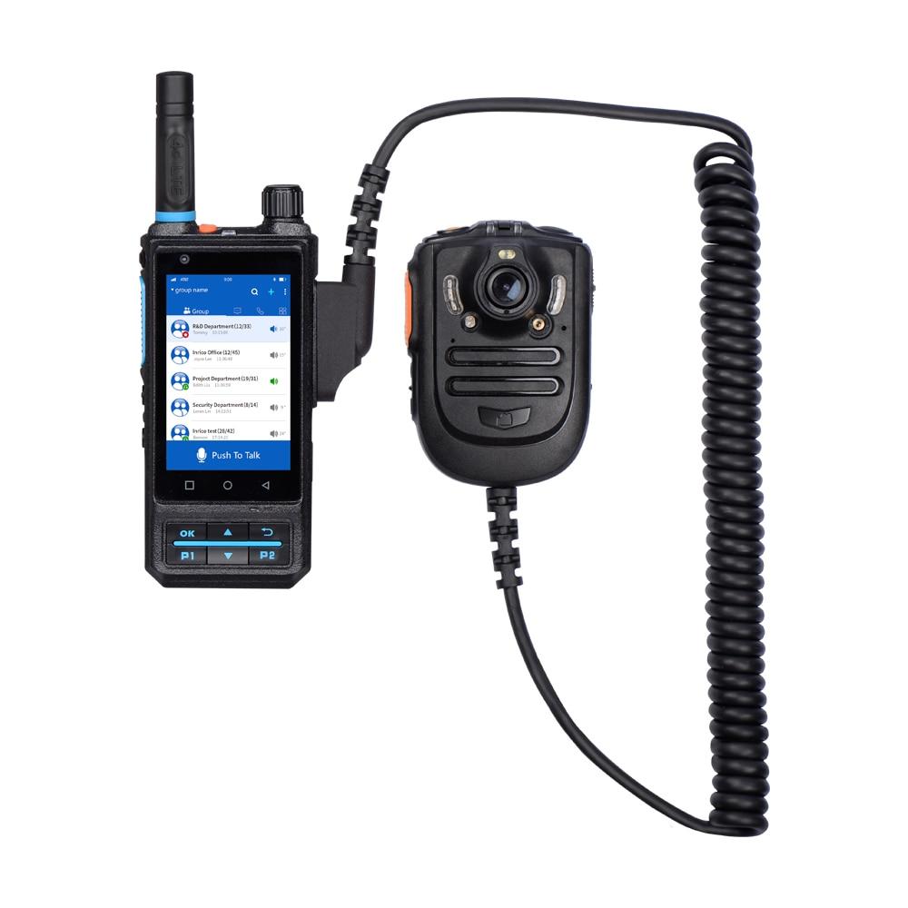 Inrico B04 Walkie Talkie Wireless Microphone RSM Body Camera Infrared Night Vision PTT Mini Portable Speaker Mic Two Way Radio enlarge