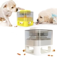 dog bowls pet supplies catapult puzzle training slow food spiller dog toy catapult for dogs great alternative to slow feeder