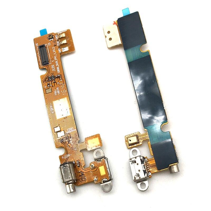 Puerto de carga Usb para Infinix X551 nota caliente X551 conector de cargador de base Cable flexible con placa de micrófono