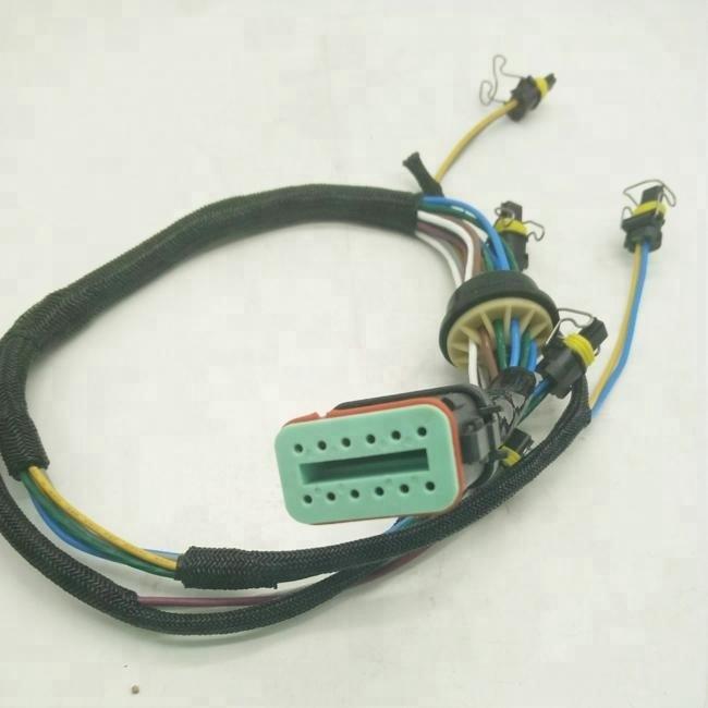 Cablagem do Injector Qualidade c7 Escavadeira 222-5917 2225917 Boa E324d E329d E325c