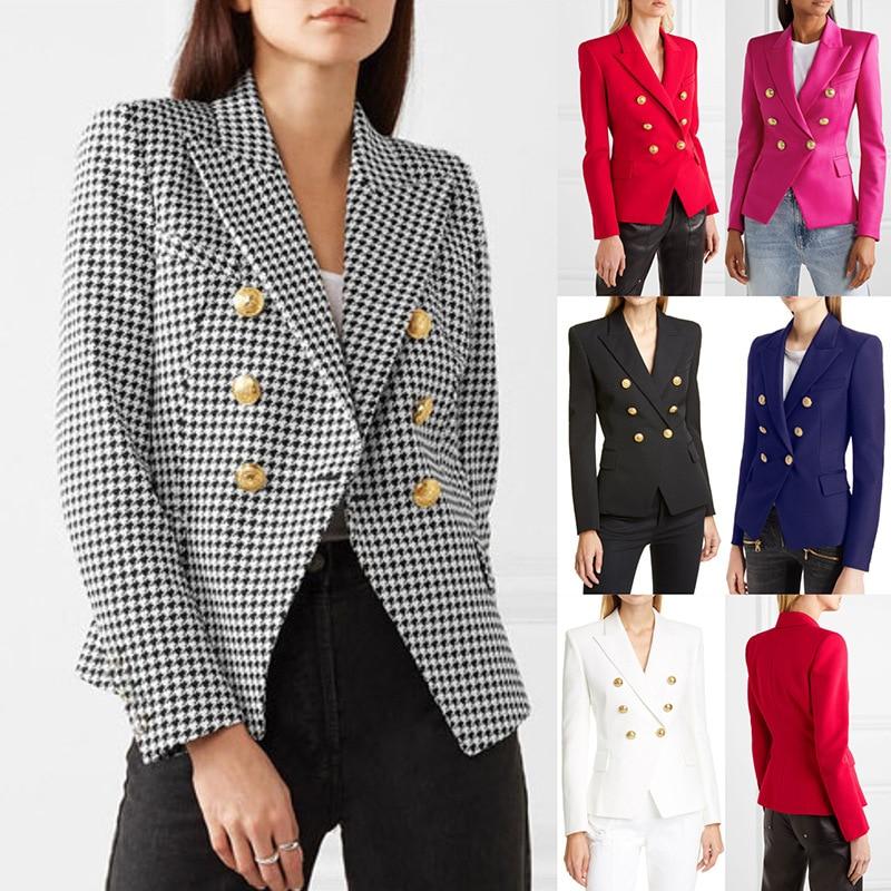 Брендовая женская одежда Yg, весна-лето 2021, новый повседневный костюм, офисная одежда, элегантный короткий двубортный многоцветный пиджак