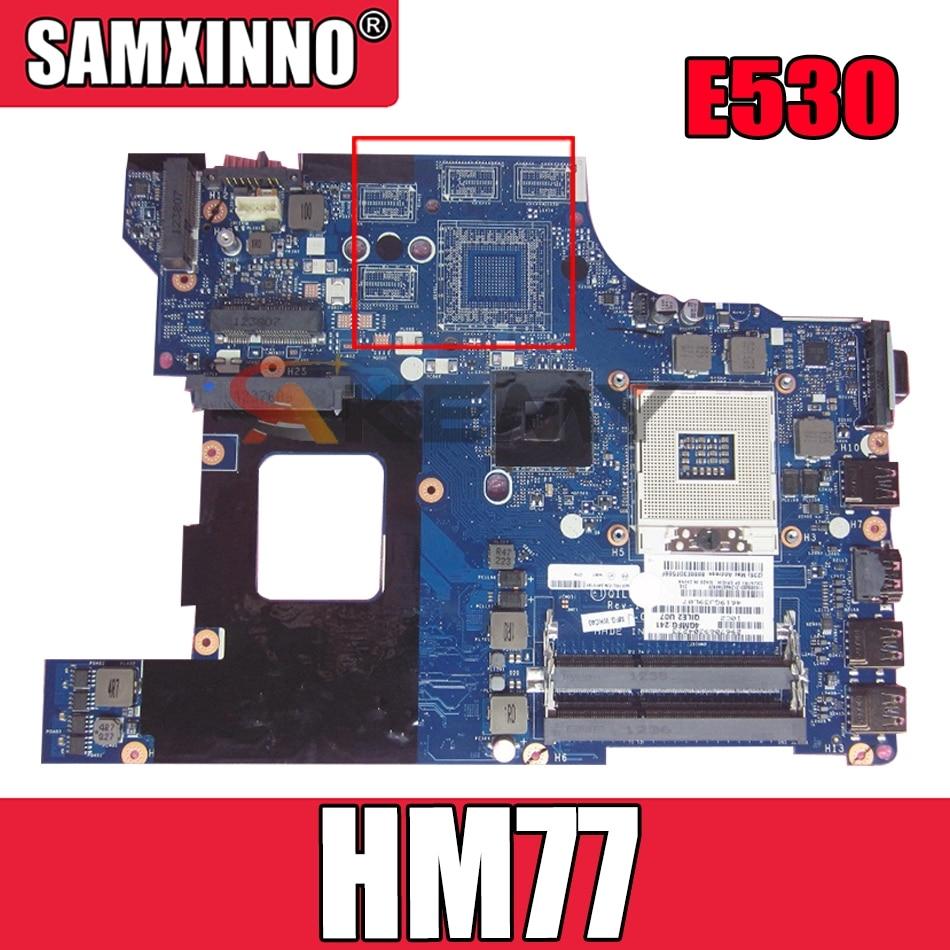 ?????? ??????? ?????? ???? ??? ???? E530 HM77 ?????? 04W4014 QILE2 LA-8133P SLJ8C DDR3