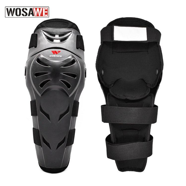 WOSAWE Adult Skiing Motorcycle Knee Pads Moto Protection Riding Knee Guard Motocross Motorbike Off-Road Racing MTB Knee Pads enlarge