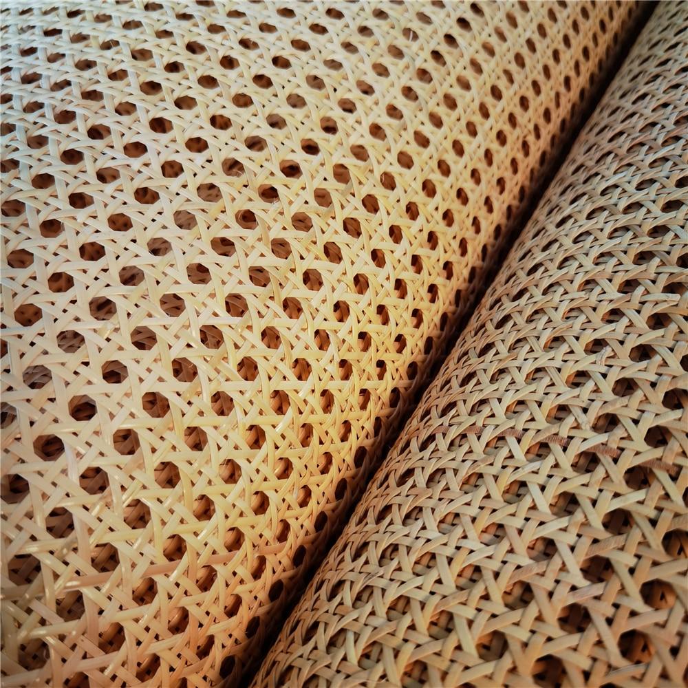 3.5-4.8 متر 40 سنتيمتر-45 سنتيمتر العرض الطبيعي الإندونيسية الروطان الخوص الحقيقي قصب حزام كرسي الجدول السقف جدار ديكور المواد