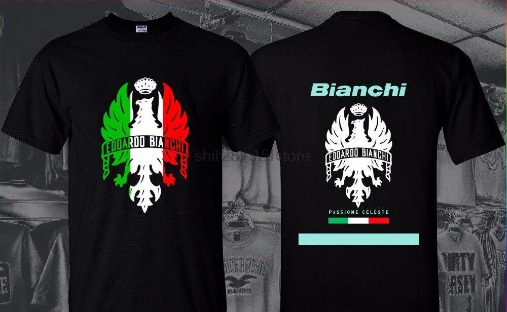 Camiseta estampada 2019 moda marca ropa camiseta Homme blanco pasión Celeste negro camiseta italiano motorista para hombre Camiseta