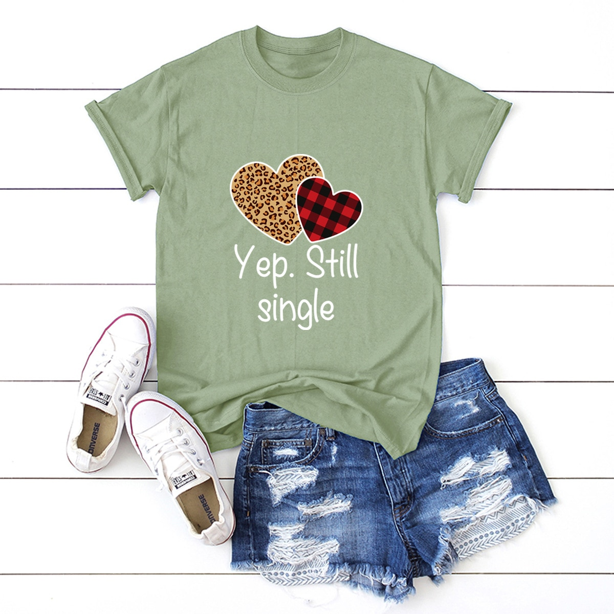 Loving couple Slim, comfortable and casual, plus size short-sleeved fashion ladies' T-shirt, 100% cotton, summer men and women