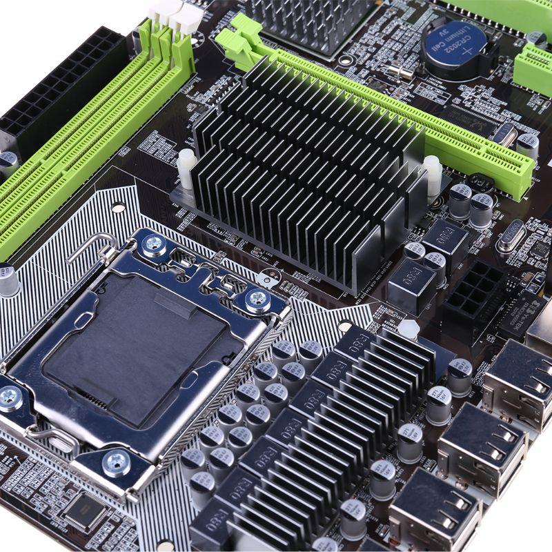 X58 LGA 1366 Motherboard Support REG ECC Server Memory and Xeon Processor Motherboard