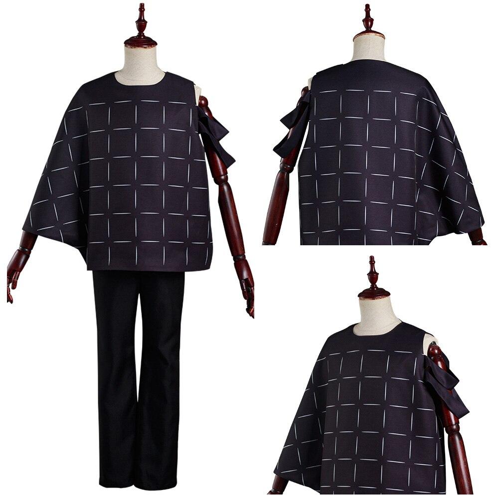 Jujutsu cos kaisen mahito cosplay traje calças superior roupas de halloween carnaval terno