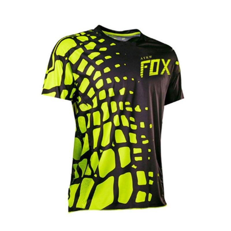 Camiseta De Ciclismo Fox para hombre, Ropa para Motocross, Enduro, motomallas, para...