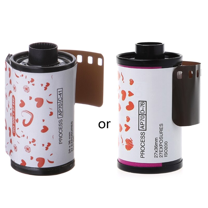 35 мм цветная печатная пленка 135 формат камеры Lomo Holga выделенный ISO 200 27EXP