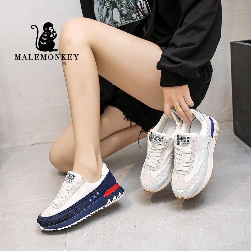 Zapatos deportivos De plataforma para Mujer, zapatillas informales transpirables, a la moda,...
