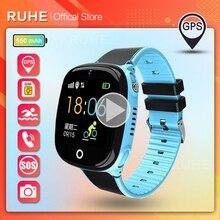 New 2021 Smart Watch Kids GPS HW11 IP67 Waterproof Smartwatch Pedometer  Children SOS Call 2G Kids S