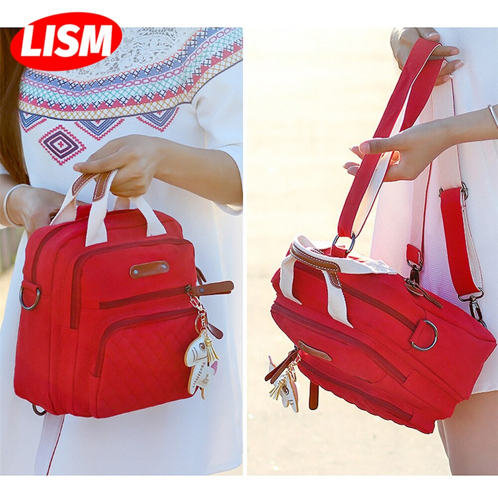 Multifunction Diaper Bag Backpack Mother Care Hobo Bag Baby Stroller Nappy Bags Travel Backpack Small Volume but Large Capacity недорого