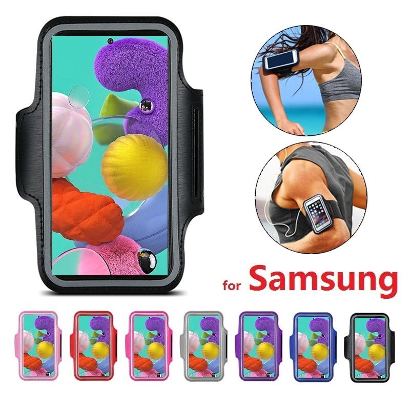 Arm band Case for Running Phone Holder Bracelet for Samsung A51 A71 A50 A40 A30 A70 S20 Ultra S10 S9