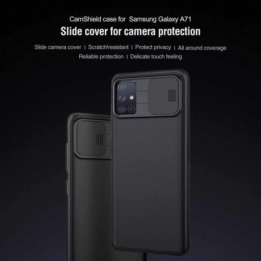 10 قطعة/الوحدة الجملة Nillkin CamShield حالة لسامسونج غالاكسي A71 حالة الشريحة غطاء للكاميرا حماية حالة