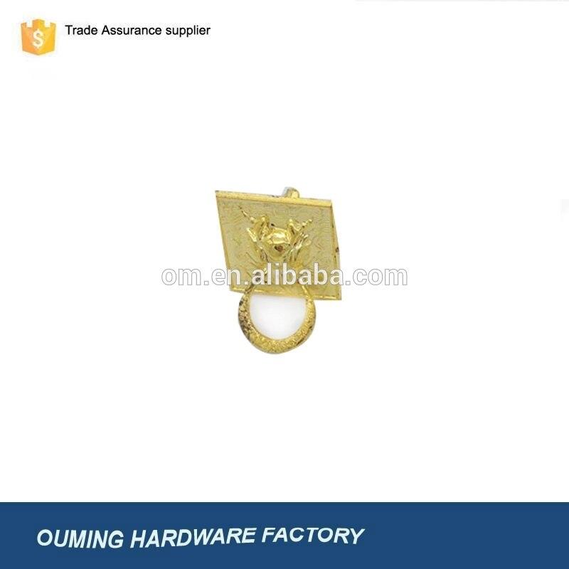 Fabricantes de China al por mayor manija para gabinete de plástico dorado