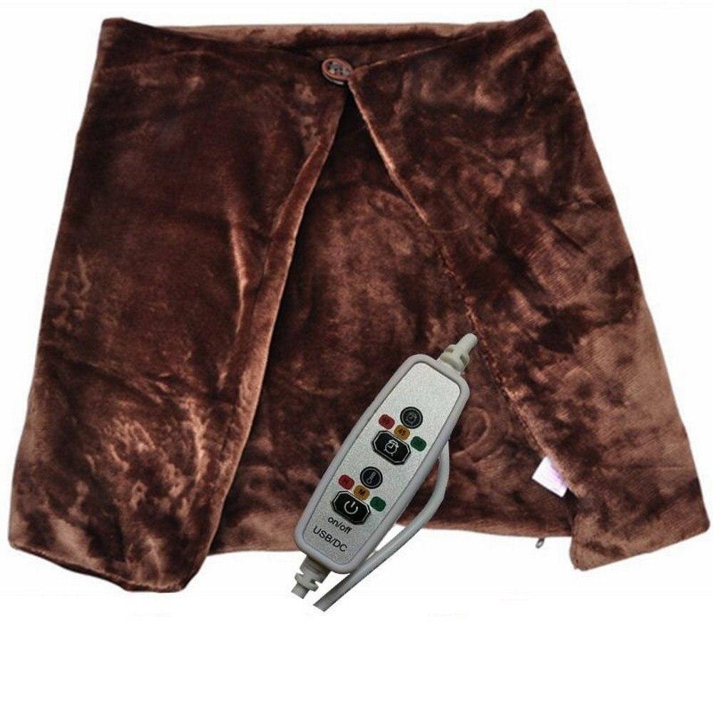 Chal de calor de fibra de carbono chal termostato de tres velocidades