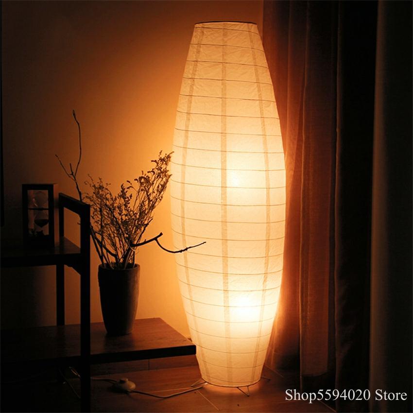 Nordic Woven Paper Floor Light LED Floor Lamp Standing Lamps for Living Room Indoor Lighting Led Floor Lamp Luminaria Lampara De