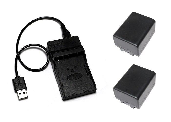 BP-709, BP709, BP-718, BP718 BP-727 BP727 Battery+USB Charger for Canon VIXIA HF M50, VIXIA HF M500, VIXIA HF M52, LEGRIA HF R88