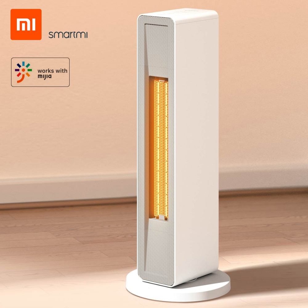 Xiaomi Smartmi Smart Electric Heater PTC Ceramic Heating Warmer Warm Air Fan APP Control With Remote Controller 2000W 220V