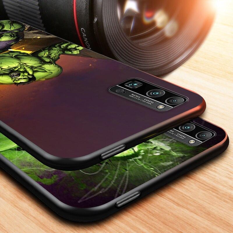 Marvel The Hulk for honor 8 9 10 10i 20 20i 20E 20S View 20 30 30i 30S 10X X10 V20 V30 Pro Plus Lite RU Black Phone Case