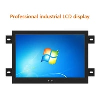15 6 inch lcd display monitor of tablet vga hdmi dvi usb lcd monitors in industrial computer resistance touch screen