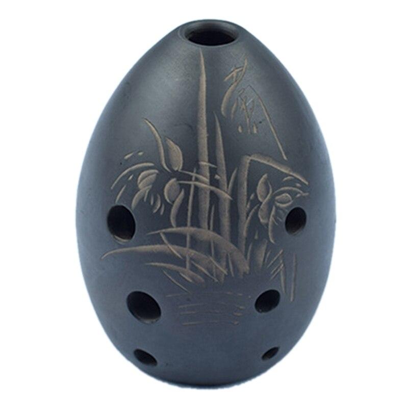 Música xun cerâmica nacional instrumentos de vento oito buracos pequena cerâmica chinesa instrumentos antigos