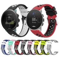 colorful sports silicone strap for suunto 9 peak band wristband for suunto 3 bracelet watchband replace accessories