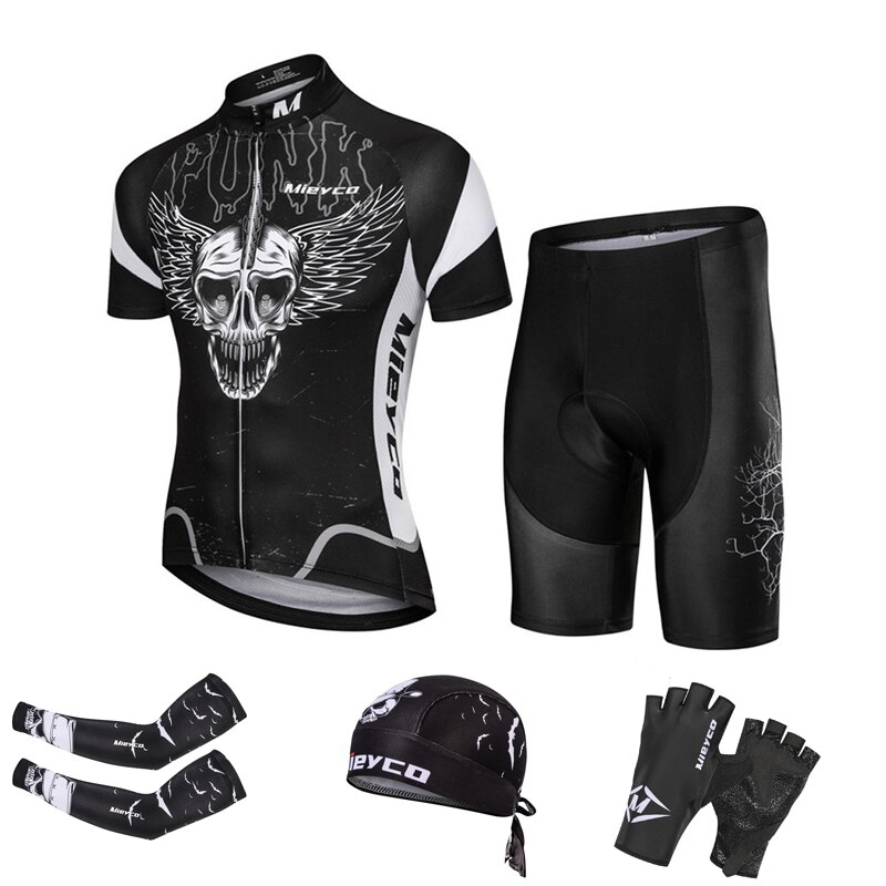 Roupas de ciclismo ropa ciclismo mieyco men ciclo jérsei conjunto manga curta masculino mtb uniforme mountain racing wear bicicleta estrada skinsuit
