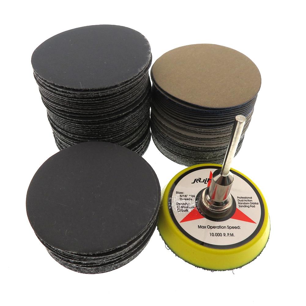 Surtido de papel de lija seco húmedo de 100 piezas 80-7000 disco de - Herramientas abrasivas - foto 2