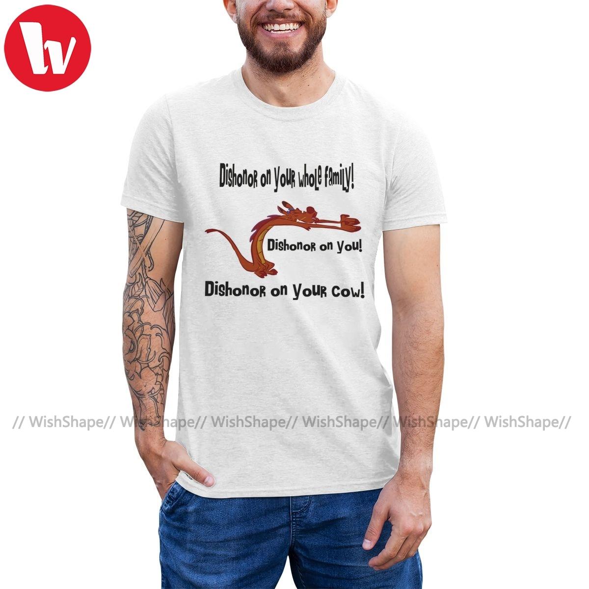 Mushu, camiseta de Mushu, camiseta Dishonor clásica para hombre, camiseta de manga corta, divertida camiseta gráfica grande de algodón