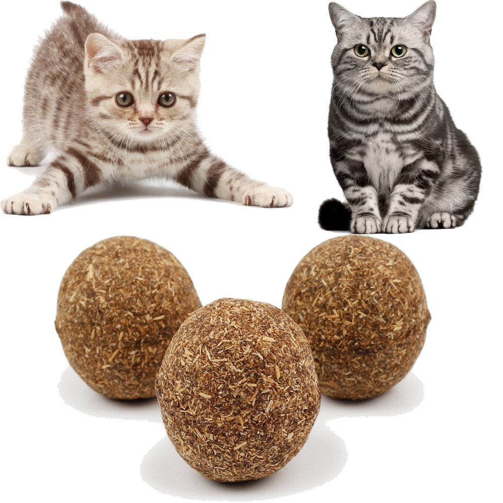 Juguetes InteractiveCat gatos y mascotas pelota de juguete hierba gatera natural divertido jugando a atrapar Teaser Tabla de mascar Jouet gran oferta