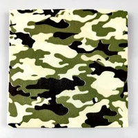 20pcspack kids boys favors napkins baby shower decoration birthday events party tableware supplies camouflage theme towels