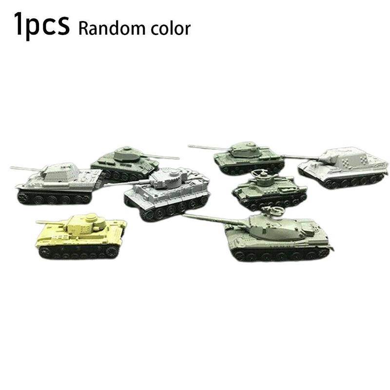 4D сборный Танк модель 1:144 тигровый охотничий Тигр основной боевой танк большой палец танк военная модель детская игрушка
