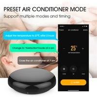 Telecommande universelle WiFi IR telecommande intelligente WiFi IR fonctionne avec Siri Alexa Google Smartphone Assistant domestique
