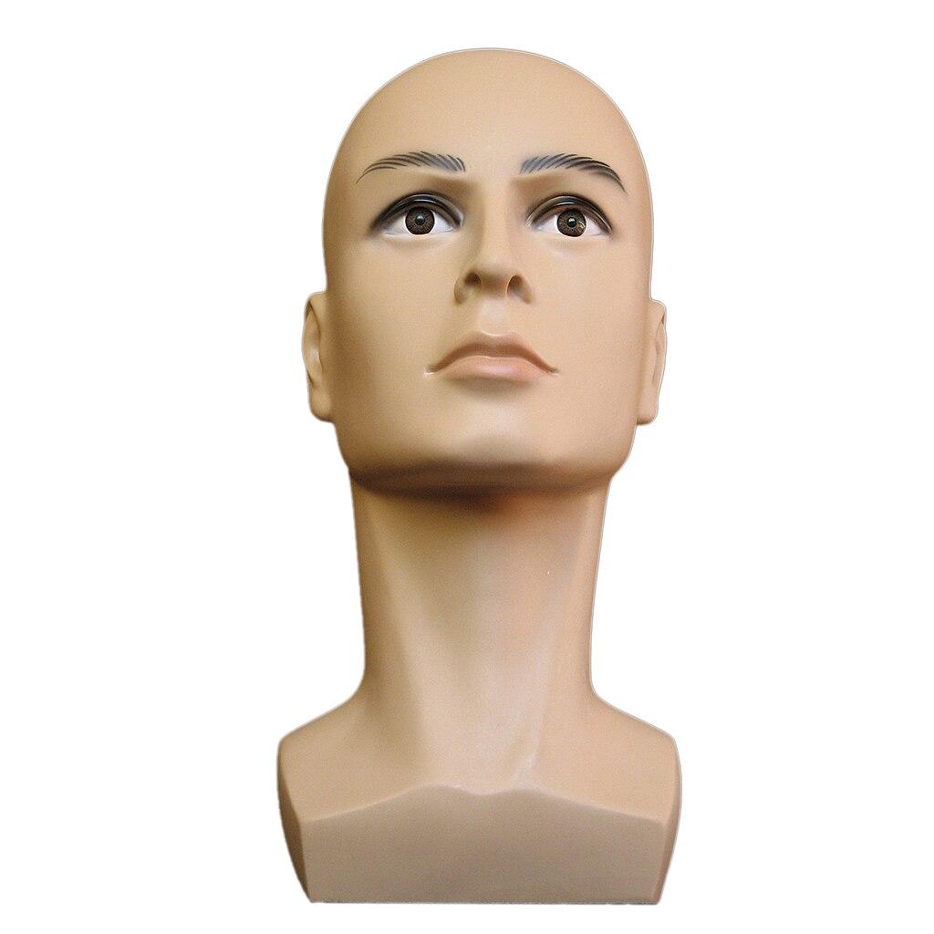 Мужской Манекен Модель голова для очков шапки парики ювелирные изделия