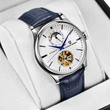 PAGANI DESIGN Automatic Watches Tourbillon Mechanical Watch Men Luxury Sapphire Crystal Skeleton Wri