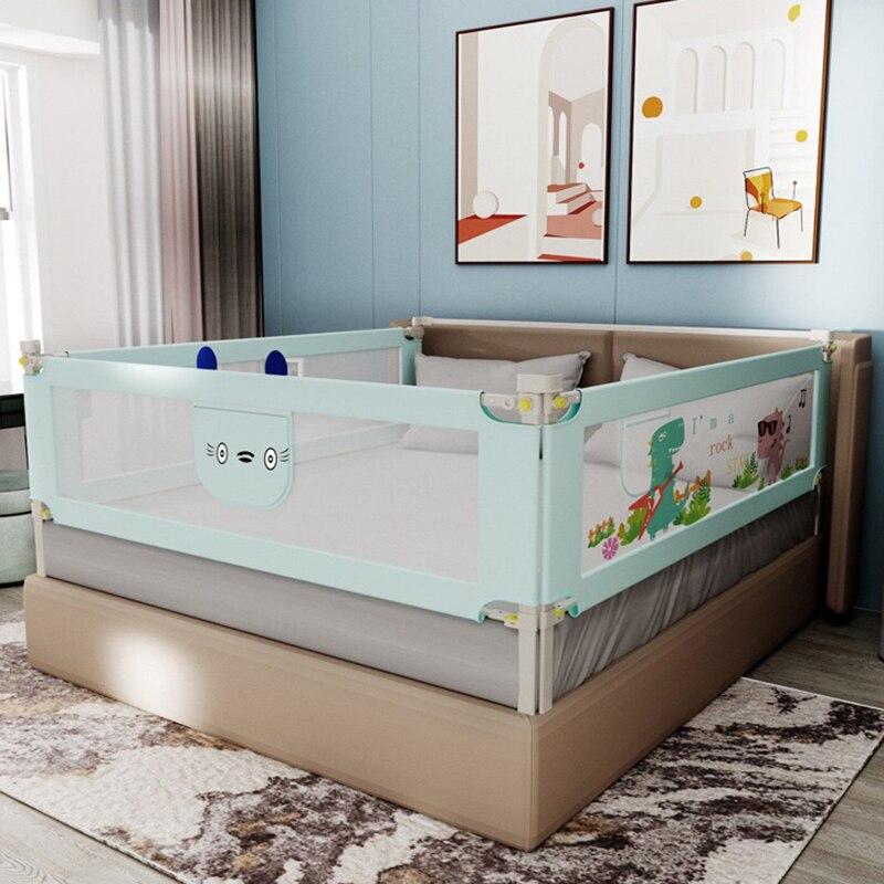 رائجة البيع 0-6 سنة 1.5 متر 1.8 متر 2 متر السرير حاجز السياج الأطفال الدرابزين لسلامة الطفل