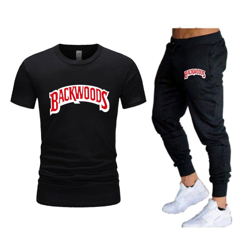 2021Fashion new men's Sportswear Running Jogging Men's Running Fitness clothes men's fitness sportsbrand sports two-piece suit