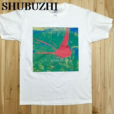 Milky Chance Sadnecessary Rock Music Band CD T-Shirts Unisex MC1 man tee shirt luxury brand tops cotton tees