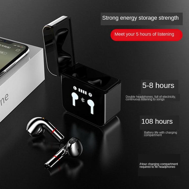 2021 TWS Bluetooth Headset 5.0 Wireless Smart Bluetooth In-ear Sports Waterproof High-definition Sound Quality Headset enlarge